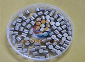 Fe evaporation materail