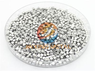 Evaporation materials high purity titanium pellets 99.995 titanium granules