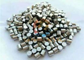 Vanadium evaporation material