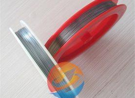 Clean Tungsten Wire