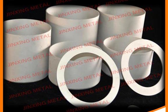 Custom shaped 99.98% purity iridium crucible for laboratory
