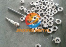Tantalum bolt and nut