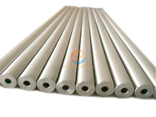 ASTM F136 Titanium cannulated bar / rod titanium hollow bar gr2 gr5 wholesale titanium rod/bar