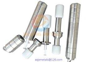 hot-sale tungsten alloy Medical PET pig syringe shield/Pig accessories