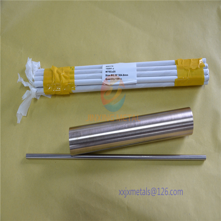 Tungsten Copper Rod Delivered to Malaysia