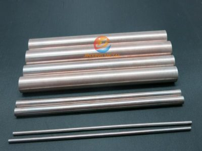 Molybdenum copper rod